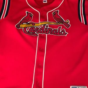 Russell Athletic Shirts - Authentic MLB Cardinals jersey